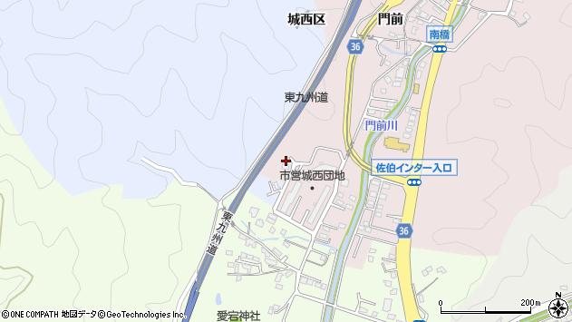 大分県佐伯市上岡2238周辺の地図