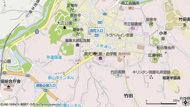 大分県竹田市竹田町406周辺の地図