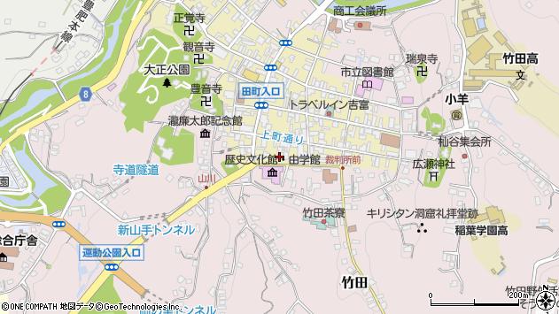 大分県竹田市竹田町418周辺の地図
