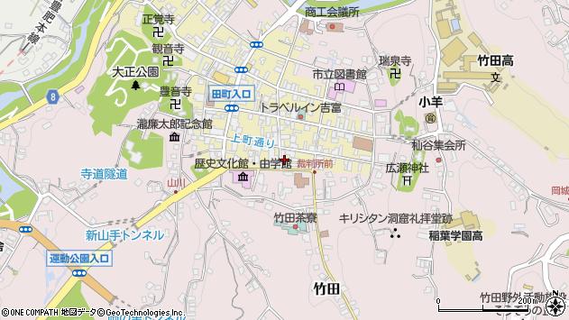 大分県竹田市竹田町33周辺の地図