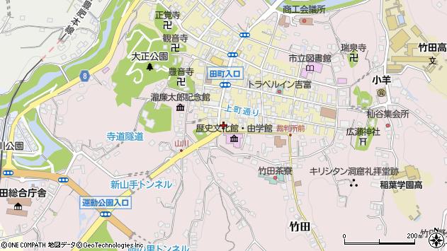 大分県竹田市竹田町455周辺の地図