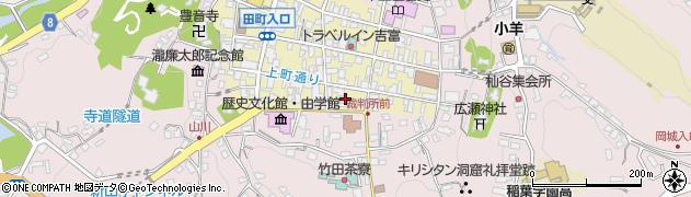 大分県竹田市竹田町32周辺の地図