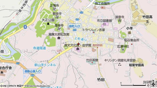 大分県竹田市竹田町416周辺の地図