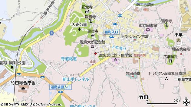大分県竹田市竹田2104周辺の地図