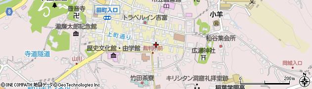 大分県竹田市竹田町20周辺の地図