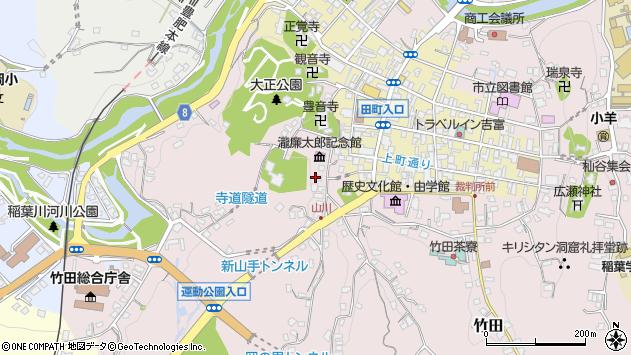 大分県竹田市竹田2123周辺の地図