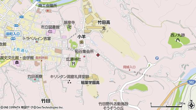 大分県竹田市竹田2573周辺の地図
