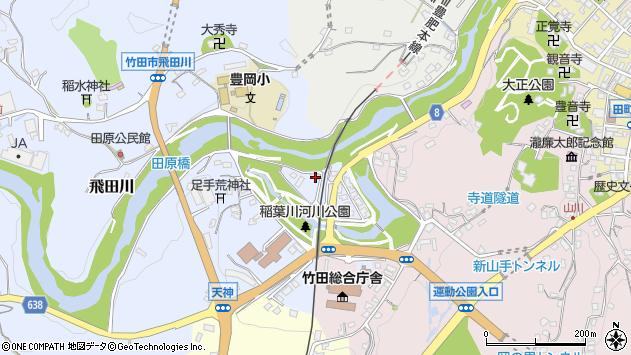 大分県竹田市飛田川1754周辺の地図