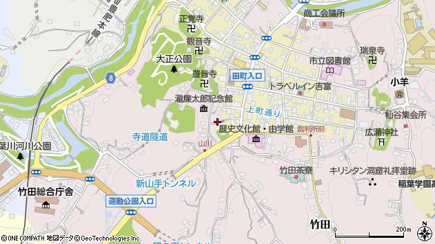 大分県竹田市竹田2107周辺の地図