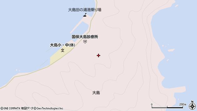 大分県佐伯市鶴見大字大島862周辺の地図