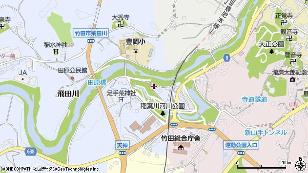 大分県竹田市飛田川1760周辺の地図