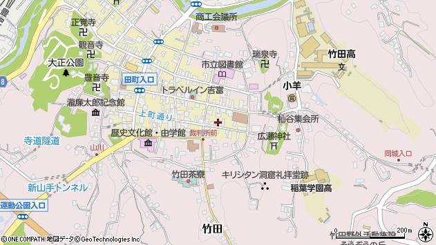 大分県竹田市竹田町85周辺の地図