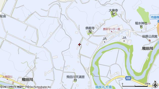 大分県竹田市飛田川2201周辺の地図