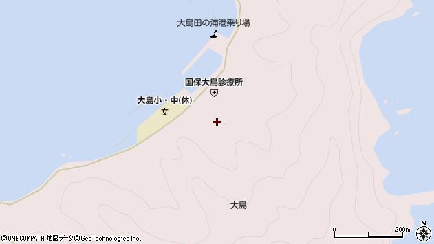 大分県佐伯市鶴見大字大島846周辺の地図