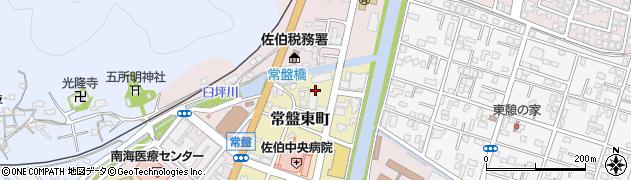 大分県佐伯市常盤東町10周辺の地図