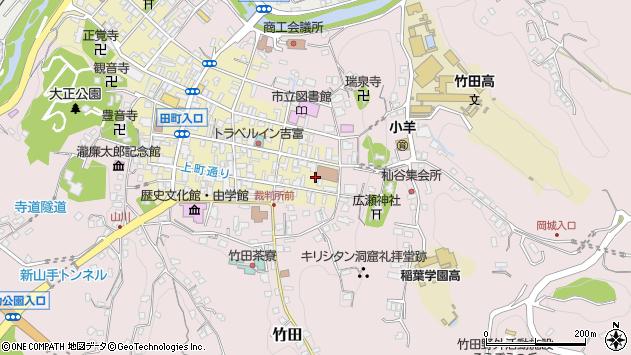 大分県竹田市竹田町95周辺の地図