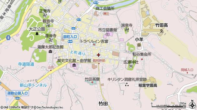 大分県竹田市竹田町72周辺の地図