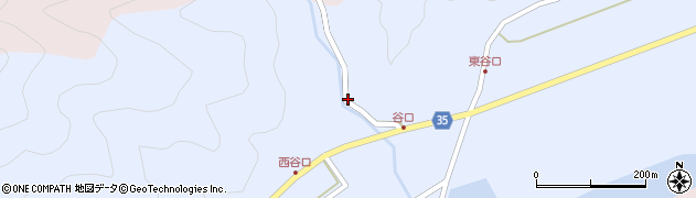大分県佐伯市弥生大字山梨子806周辺の地図
