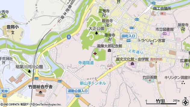 大分県竹田市竹田2137周辺の地図