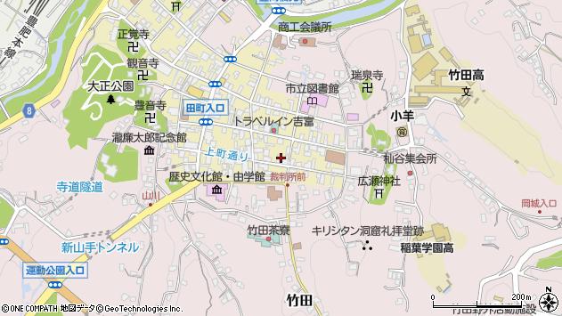 大分県竹田市竹田町70周辺の地図