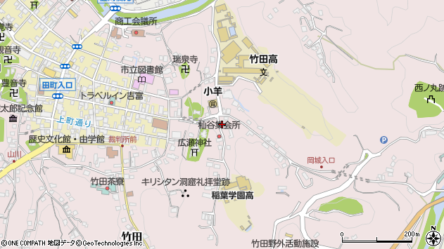 大分県竹田市竹田2566周辺の地図