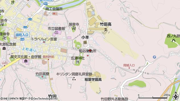 大分県竹田市竹田2567周辺の地図