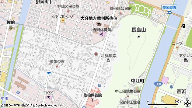 大分県佐伯市東町24周辺の地図