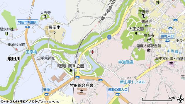 大分県竹田市竹田1703周辺の地図