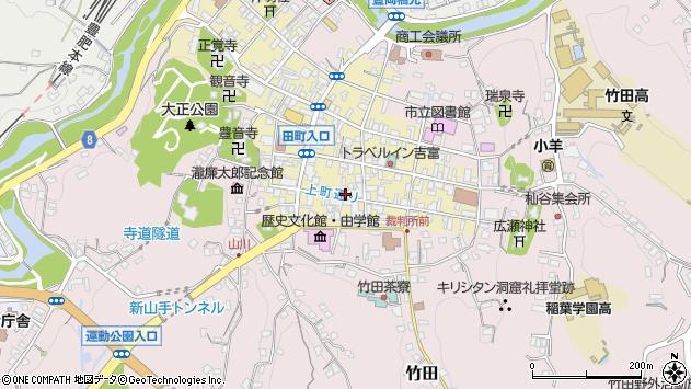 大分県竹田市竹田町56周辺の地図