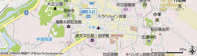 大分県竹田市竹田町53周辺の地図