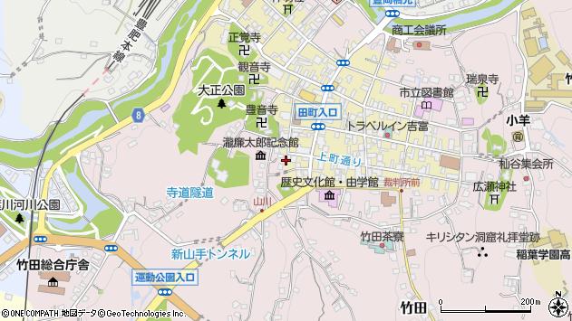 大分県竹田市竹田町451周辺の地図