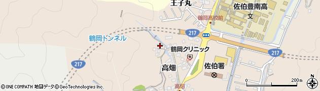 大分県佐伯市鶴望2674周辺の地図
