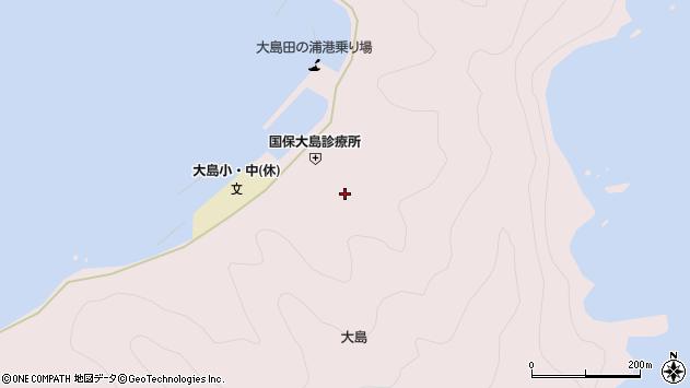 大分県佐伯市鶴見大字大島860周辺の地図
