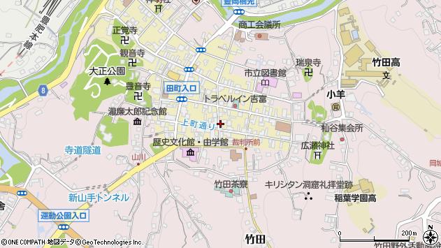大分県竹田市竹田町237周辺の地図