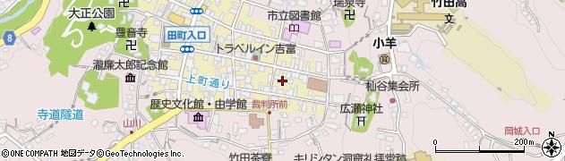 大分県竹田市竹田町107周辺の地図