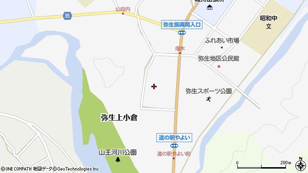 大分県佐伯市弥生大字上小倉上小倉周辺の地図