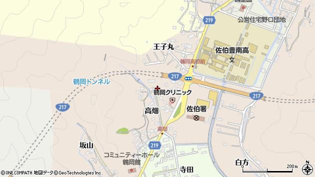 大分県佐伯市鶴望2750周辺の地図