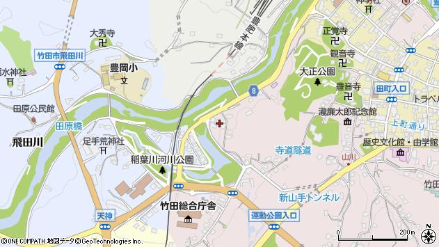 大分県竹田市竹田1700周辺の地図