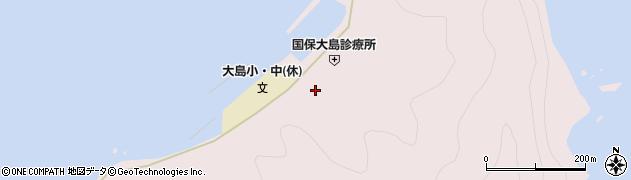 大分県佐伯市鶴見大字大島754周辺の地図