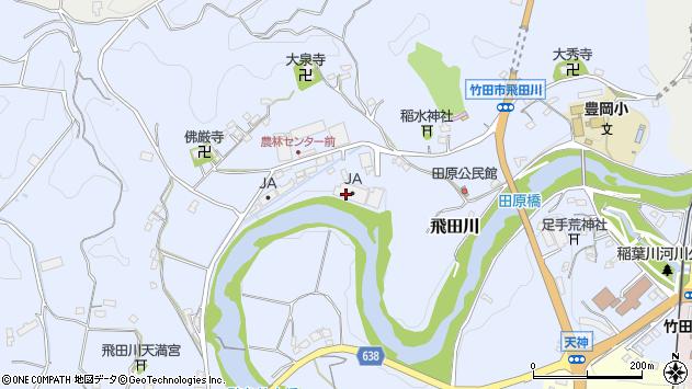 大分県竹田市飛田川1936周辺の地図