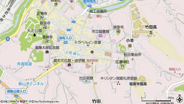 大分県竹田市竹田町111周辺の地図