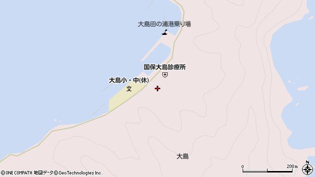 大分県佐伯市鶴見大字大島761周辺の地図