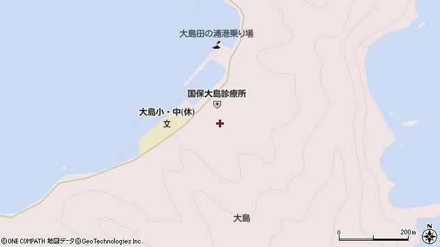 大分県佐伯市鶴見大字大島853周辺の地図