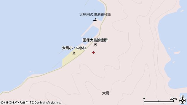大分県佐伯市鶴見大字大島793周辺の地図
