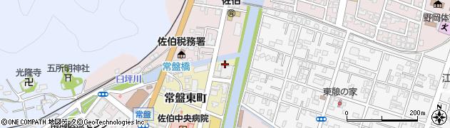 大分県佐伯市常盤東町9周辺の地図