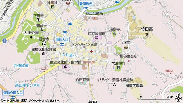 大分県竹田市竹田町106周辺の地図