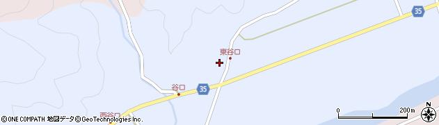 大分県佐伯市弥生大字山梨子991周辺の地図