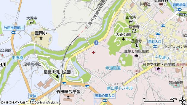 大分県竹田市竹田1690周辺の地図
