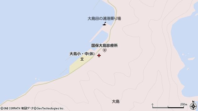 大分県佐伯市鶴見大字大島759周辺の地図