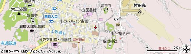 大分県竹田市竹田1998周辺の地図